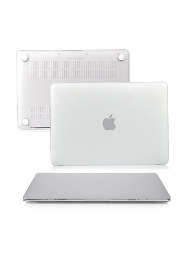 """Mcstorey MacBook Pro A1286 15.4"""" Kılıf Kapak Koruyucu Ruberized Hard Incase Mat Renksiz"""